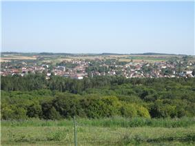 General view of the town