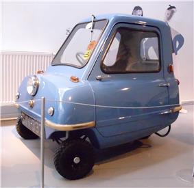 1963 Peel P50.