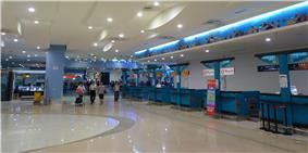 Penang International Airport check-in counters