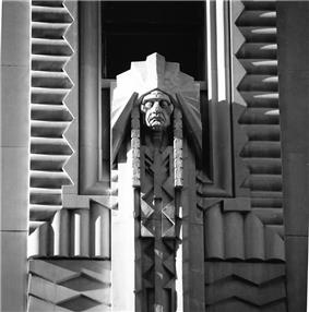 Sculpture by Corrado Parducci for the Penobscot Building in Detroit