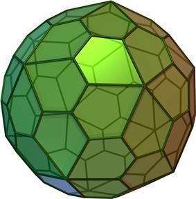 Pentagonal hexecontahedron (Ccw)