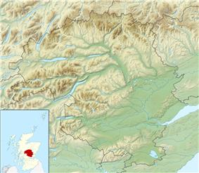 St Serf's Inch is located in Perth and Kinross