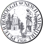 Official seal of Peterborough, New Hampshire
