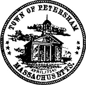 Official seal of Petersham, Massachusetts