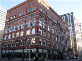 The Peyton Building in Spokane's Central Business District