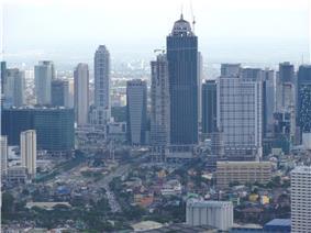 Skyline of Bonifacio Global City