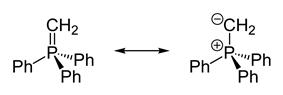 Wittig reagent resonance structures