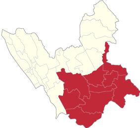 Karuhatan is located in 2nd Legislative district of Valenzuela, Philippines