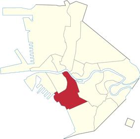 Location within Manila