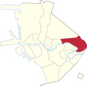 Location of Santa Mesa