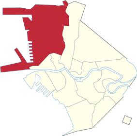 Location of Tondo
