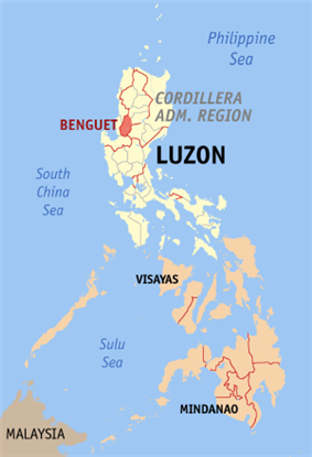 Location within the Philippines