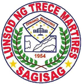 Official seal of Trece Martires