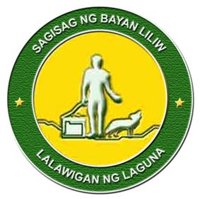 Official seal of Liliw