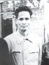 A young man wearing traditional clothing
