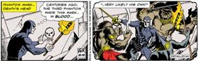 Two-panel comic strip