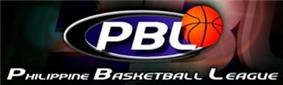 The official logo of the Philippine Basketball League.