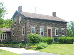 Philo Newton Cobblestone House