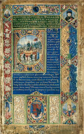 John Corvinus triumphen in Vienna