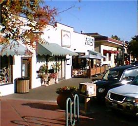 Cotati downtown scene