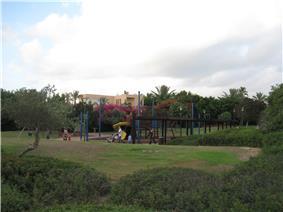 Modern town of Caesarea