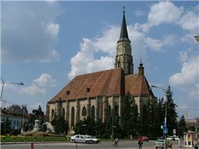 Gothic Church in Cluj