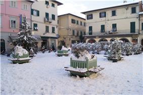 Piazza Garibaldi in Santa Croce sull'Arno