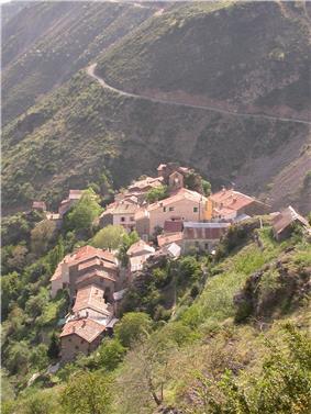 The village of Pierlas