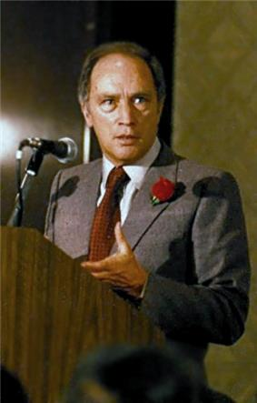 Pierre Trudeau, Prime Minister of Canada and alumnus.