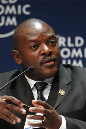 Pierre Nkurunziza - World Economic Forum on Africa 2008.jpg