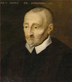Portrait of Ronsard by an unknown artist, ca. 1620.