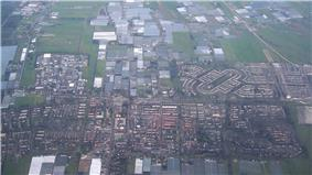 Aerial view of Pijnacker