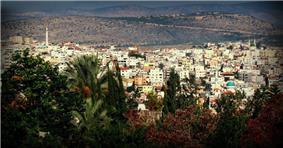 View of Sakhnin