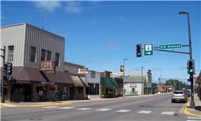 Downtown Pine City