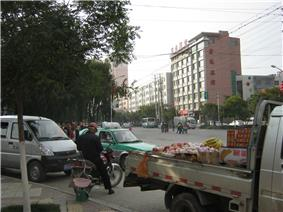 A street in Ping'an District