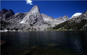 Pingora Peak and Lonesome Lake.