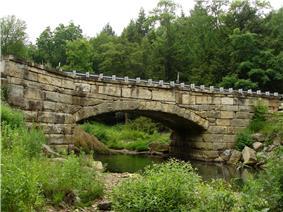 Pithole Stone Arch