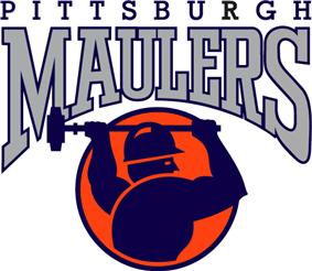 Pittsburgh Maulers logo