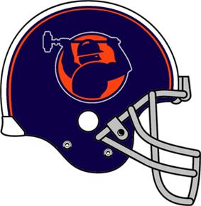 Pittsburgh Maulers helmet