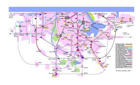 Map of Havana MetroBus