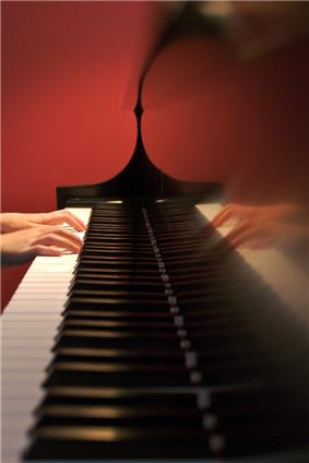 Bimanual synchronized finger movements play an essential role in piano playing.