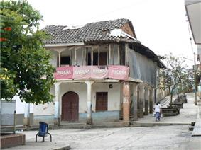 Main square in Irupana