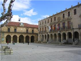 Main square of Soria