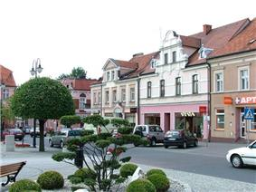 Fragment of the town square