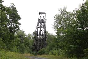 Plummer Mine Headframe