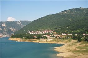 Skyline of Plužine