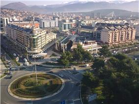 Financial district of Podgorica