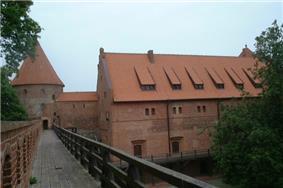 Teutonic castle in Bytów