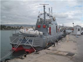 Photo of Category A, Fast sea Patrol Boat, FAC-23 Class (rear view)