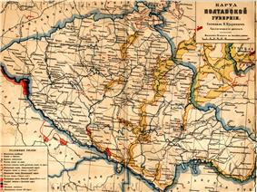 Location of Poltava